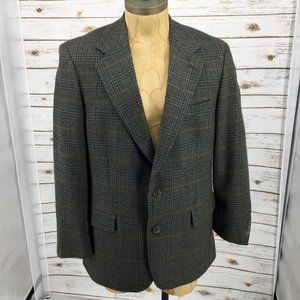 Brooks Brothers wool glen plaid blazer sport coat